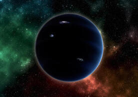 "An artist's depiction of the hypothesized ""Planet Nine"" (© stock.adobe.com)"